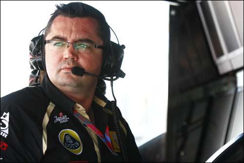 Руководитель Lotus Renault GP Эрик Булье