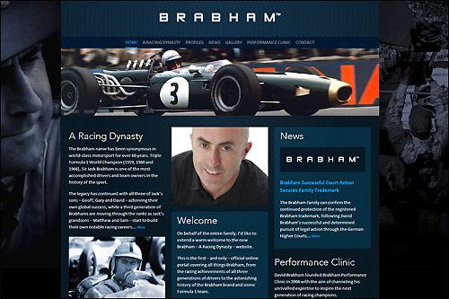 Главная страница официального сайта семьи Брэбэмов