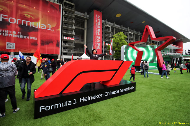 Атмосфера в паддоке прошлогоднего Гран При Китая
