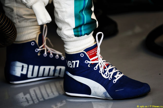 Гоночные ботинки Puma Валттери Боттаса