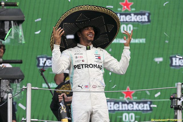 Льюис Хэмилтон – победитель Гран При Мексики