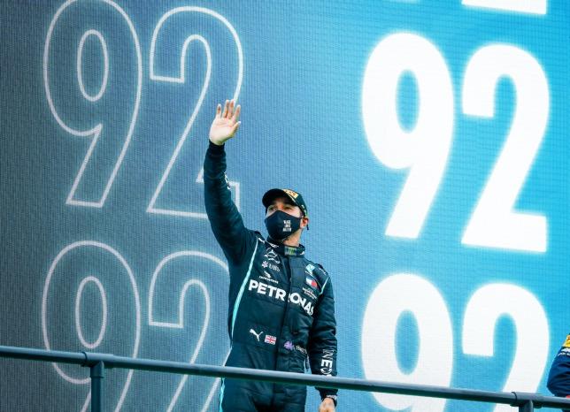 Льюис Хэмилтон –победитель Гран При Португалии, фото HochZwei