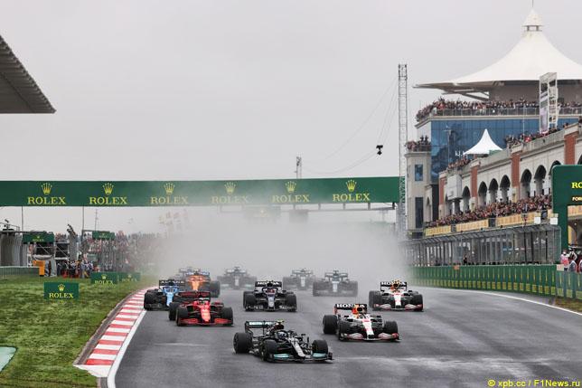 Старт Гран При Турции, 2021 год