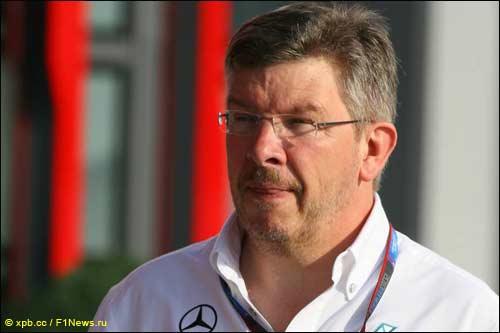 Руководитель Mercedes GP Росс Браун