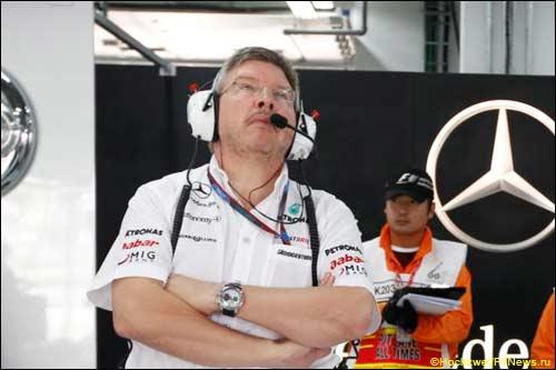 Росс Браун на Гран При Кореи