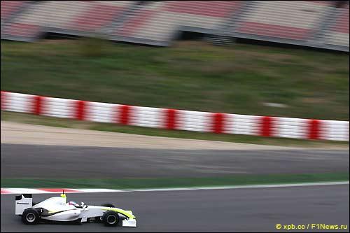 Дженсон Баттон. Brawn GP