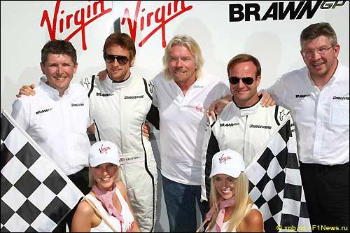 Brawn GP и Ричард Брэнсон