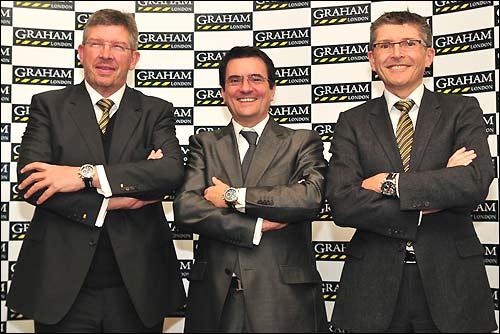 Руководство Brawn GP и Graham London
