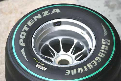 Новая маркировка мягких шин Bridgestone
