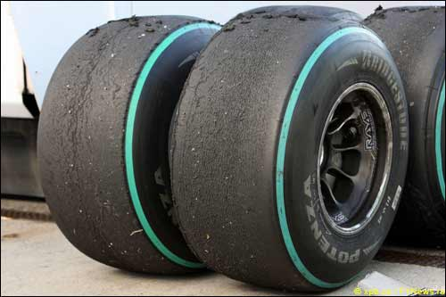 Шины Bridgestone на тестах в Хересе