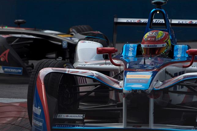Эпизод аргентинского этапа Формулы E, февраль 2017 года