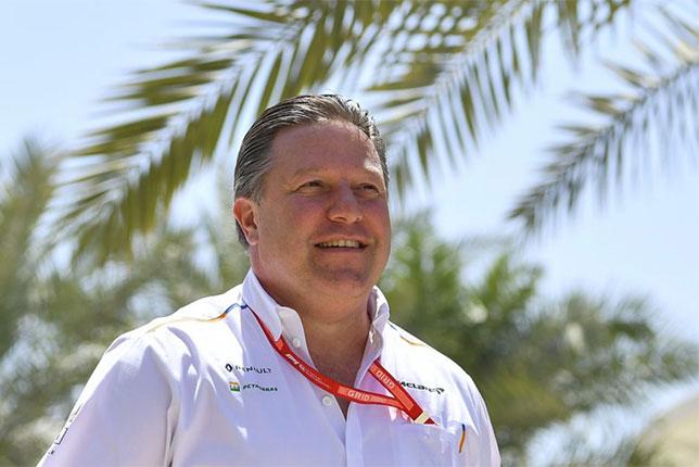 Зак Браун, исполнительный директор McLaren Racing