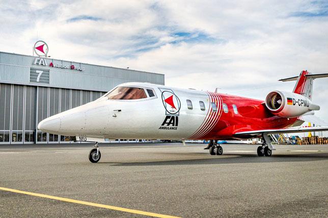 Самолёт компании FAI Aviation Group (фото с официального сайта компании)