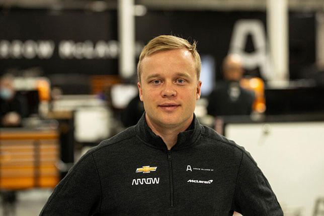 Феликс Розенквист, фото Arrow McLaren SP