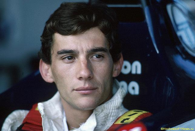 Айртон Сенна в 1984-м, в год его дебюта в Формуле 1