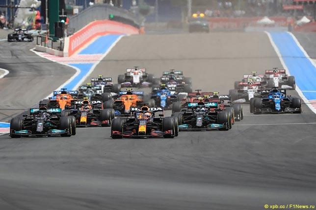 Стартовое Гран При Франции