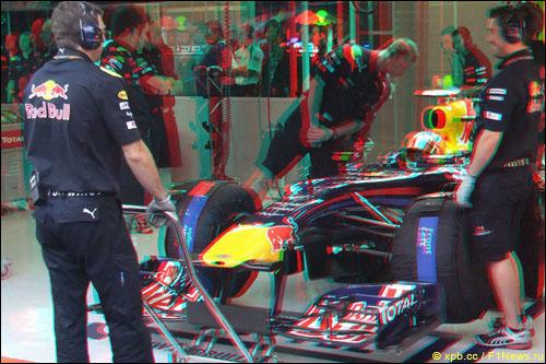 Пробная съемка в 3D, Гран При Бельгии 2010