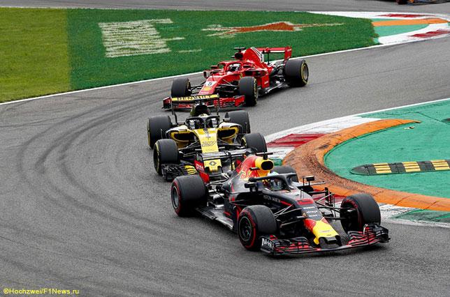 Один из эпизодов прошлогоднего Гран При Италии