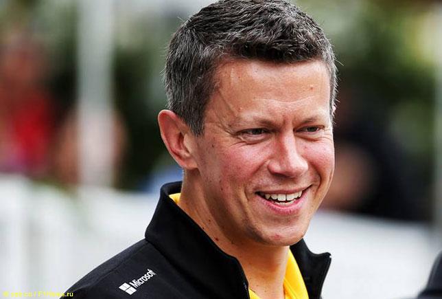 Марцин Будковски, исполнительный директор Renault F1
