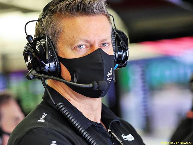Марцин Будковски, исполнительный директор Alpine F1
