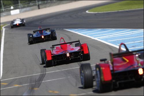Тесты Формулы E в Донингтон-парке