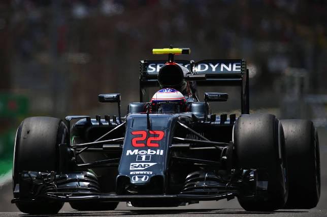 Гран При Бразилии. Дженсон Баттон