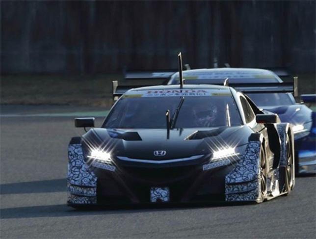 Honda NSX команды Team Kunumitsu