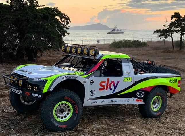 Гоночный пикап Brenthel Spec TT/6100 команды Rocket Motorsport