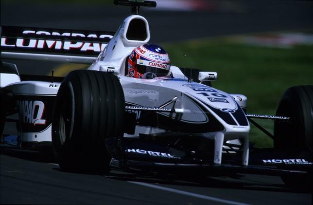Дженсон Баттон за рулём Williams FW22, 2000 год, фото HochZwei
