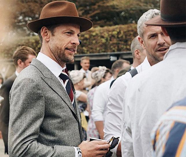 Баттон принимает участие в фестивале Goodwood Revival