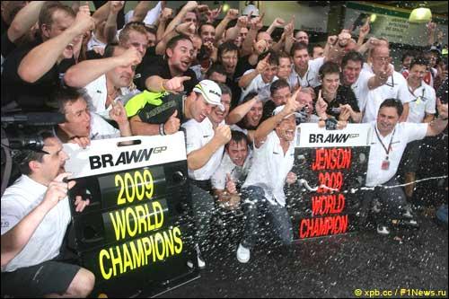 Дженсон Браун и Brawn GP