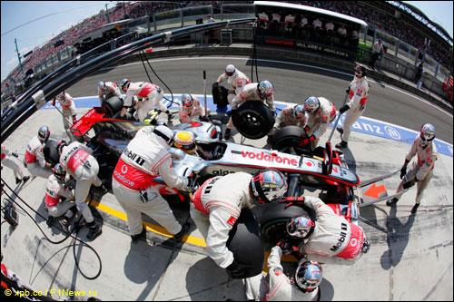 McLaren на Гран При Венгрии 2010 года