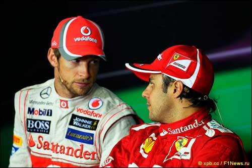 Дженсон Баттон сменит Фелипе Массу в Ferrari