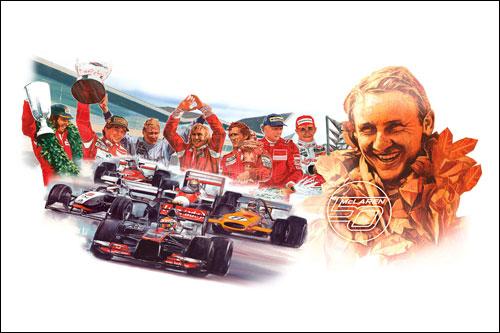 В McLaren празднует 50-летие