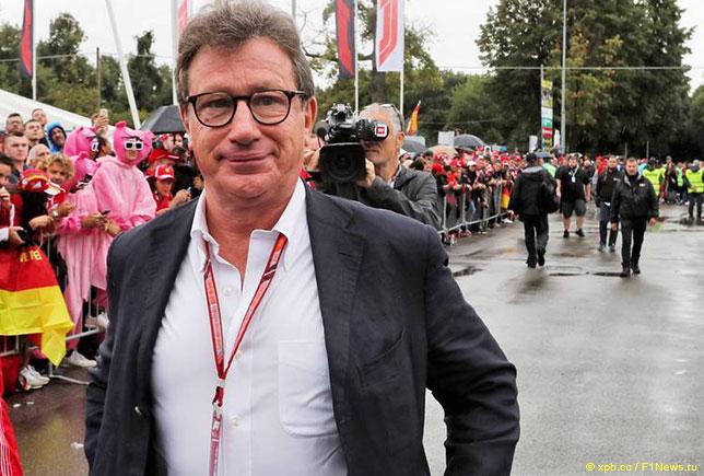Луис Камильери, исполнительный директор Ferrari