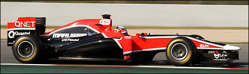 Marussia Virgin Racing VR-02