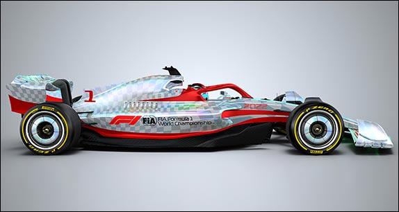 Машиан F1 2022