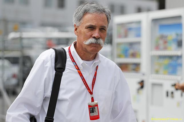 Чейз Кэри - исполнительный директор Формулы 1
