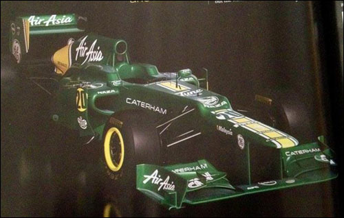 Caterham CT01. Фото из F1 Racing