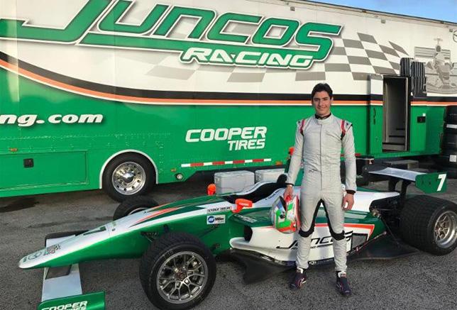 Альфонсо Селиш переходит в Indy Lights