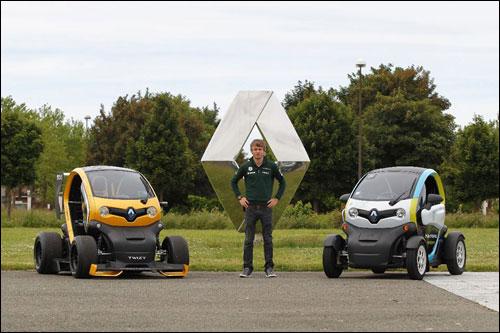 Шарль Пик в Технологическом центре Renault