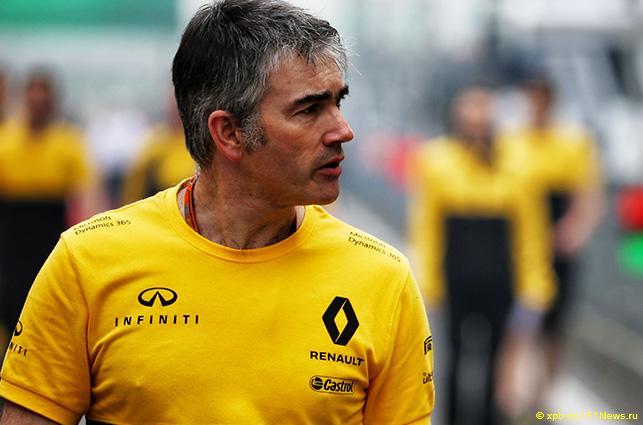 Ник Честер, технический директор Renault F1
