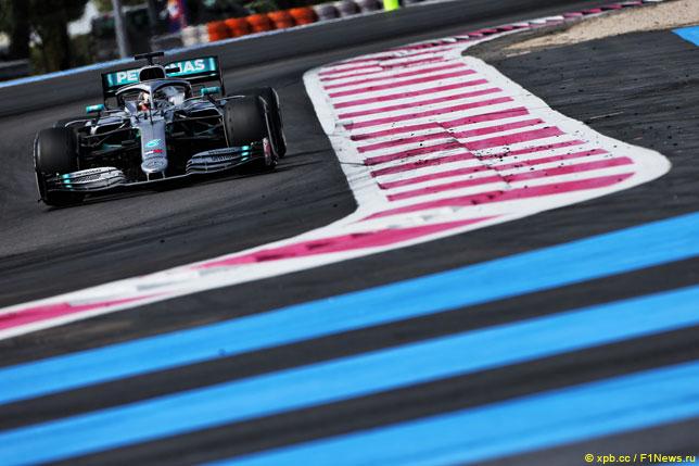 Льюис Хэмилтон на Гран При Франции