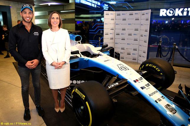 Рой Ниссани и Клэр Уильямс (фото пресс-службы Williams)