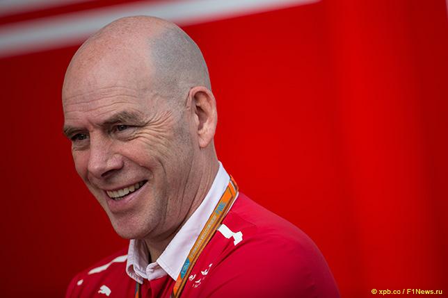 Джок Клиа, главный инженер Ferrari