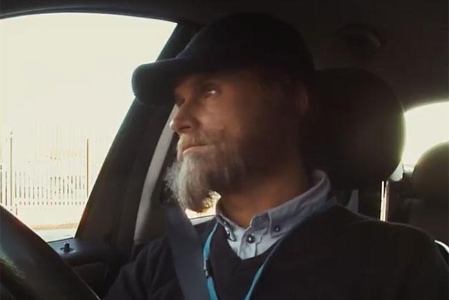 Дэвид Култхард в роли ливерпульского таксиста