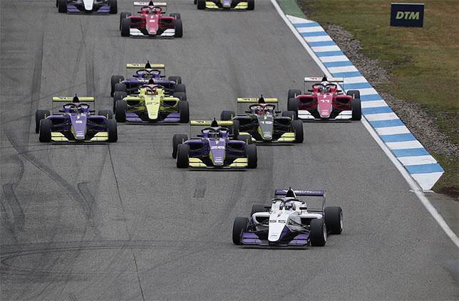 Один из эпизодов первой гонки W Series в Хоккенхайме