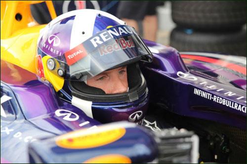 Дэвид Култхард на Moscow Raceway