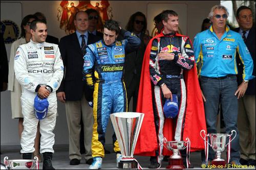 Подиум Гран При Монако 2006 года