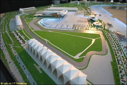 Проект трассы в Абу-Даби